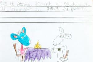 Livre écrit par un enfant