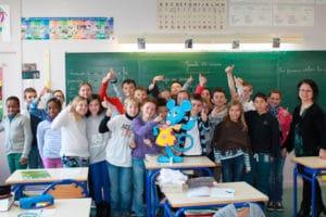 Visite de la Petite Souris à l'école
