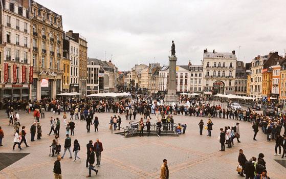 La grande foule pour Natoo au Furet de Lille