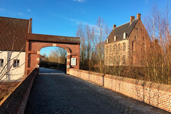 Une belle journée ensoleillée à Mouscron en Belgique
