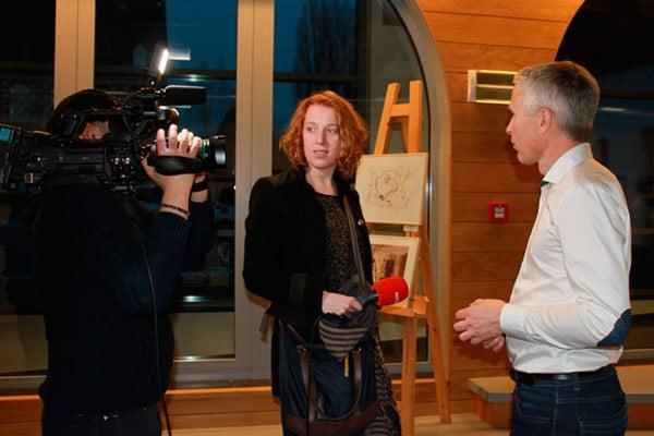 Un reportage de la télévision belge