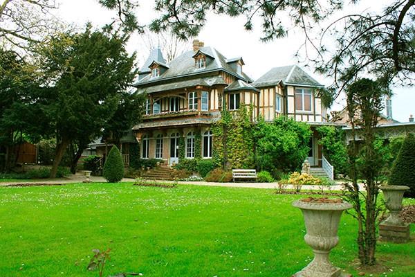 Maison de Maurice Leblanc à Etretat