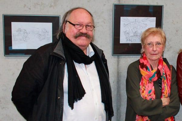 Des invités prestigieux : Madame Marlier et Patrick Delgrange