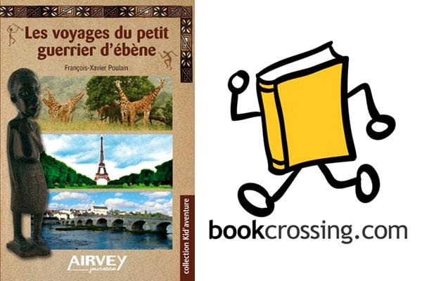 Roman qui voyage grâce à Book Crossing