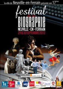 Festival de la biographie de Neuville-en-Ferrain
