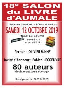 Salon du livre d'Aumale 2019