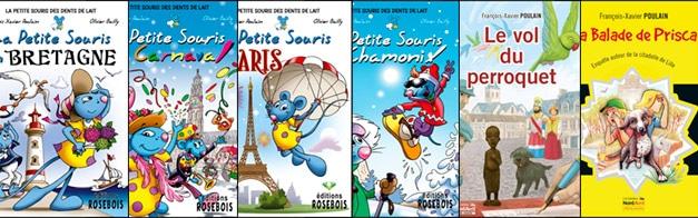 Livres jeunesse écrits par l'auteur