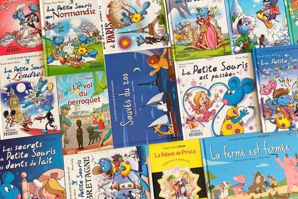 Livres pour enfants écrits par FX Poulain